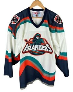 Vintage New York Islanders Fisherman CCM 90s Jersey Medium