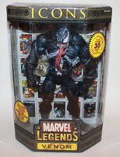 """Marvel Legends ICONS 12"""" VENOM (Masked) Action Figure ToyBiz SEALED"""
