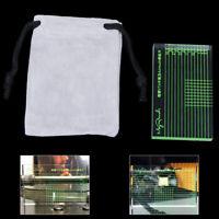 Record Player Measuring Phono Tonearm Cartridge Azimuth Alignment Ruler JE  QA