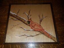 Homemade Cardinal Painting