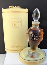 "RARE VINTAGE WITH BOX SEALED CHRISTIAN DIOR ""DIORLING"" 2 FL OZ.1963 BACCARAT"