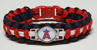 Los Angeles Angels of Anaheim Paracord Bracelet or Lanyard or Deluxe Key Chain