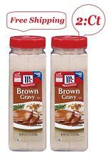 2 Pack McCormick Brown Gravy Mix (21 oz.)