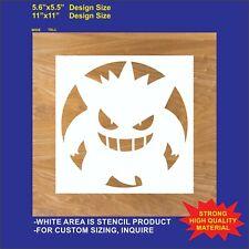 Gengar  - Reusable, Flexible Plastic Stencil