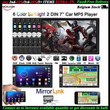 "7""2 Din Autoradio In-Dash Stereo Lettore MP5 DVR/FM/USB/TF Bluetooth Mirror Link"