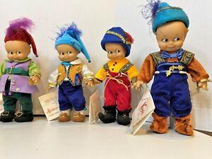 """Kewpie Snow White and the Seven Kewpies Dolls by Effanbee, Kewpie is 16"""""""