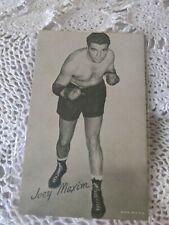 Boxer Joey Maxim Vintage Arcade Card