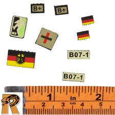 KSK Assaulter - Patches Set - 1/6 Scale - Damtoys Action Figures