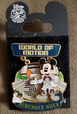 World of Motion Remember When White Glove Disney Pin Mickey LE New