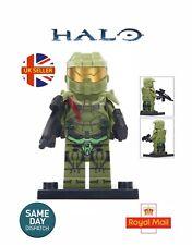 Halo Master Chief Petty Officer John-117 MiniFigure Master Chief UK Seller