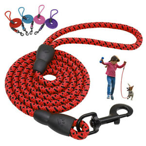 1.5M Braided Dog Walking Lead Pet Climbing Rope Large Strong Lead for Pitbull