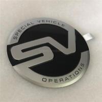 Genuine Black SVO Special Vehicle Operations Side Pillar Badge Sport L494 L405