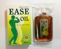 1x New Lock Ease Oil Woodlock Muscle Pain Arthritis Sprain Sore Authentic 50ml