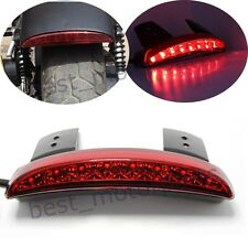 MOTORCYCLE CHOPPED BRAKE LICENSE LED TAIL LIGHT FOR HARLEY SPORSTER XL883 XL1200