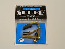 Shubb Partial Capo Acoustic Electric Guitar C7B ~New~ Free U.S. Shipping
