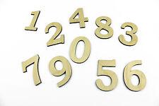 Set of 10 MEDIUM Wooden Numbers / DIY / Unpainted / Wedding / Table Numbers