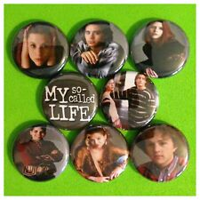 """My So Called Life 1"""" buttons pinback Jared Leto Danes"""