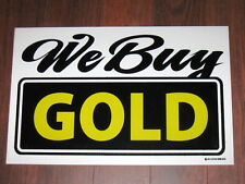 General Business Sign: We Buy GOLD