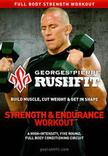 Georges St. Pierre Rushfit Workout Program 4 DVD Lot - Fight Conditioning & More