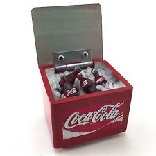 Miniature Coke In Ice Bucket Cooler Tiny Dollhouse Creative Handmade Collectible