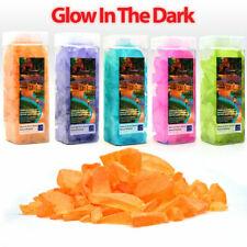 3PK Glow in The Dark Garden PEBBLES STONES, Fish Tank Rocks Garden Walkways Home
