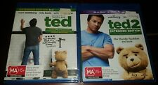 *New & Sealed* Ted 1 & 2 on Blu Ray! Region B AUS Comedy Movies. Mark Wahlberg