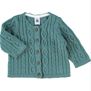 Petit Bateau Unisex Baby Sweater-Strickjacke