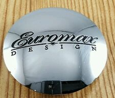 EUROMAX DESIGN    CENTER CAP # C-024 MIDTEC   CHROME  WHEELS  CENTER CAP