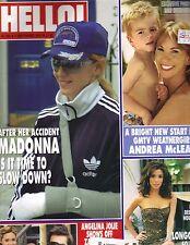 Madonna Gb Hello Revista 9/1/05 #882 Angelina Jolie Brad Pitt Eva Longoria Pc