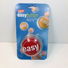 Staples Talking Easy Button - Complete New In Package Working With Batteries