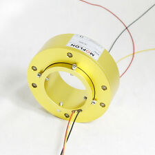 MT80158 SLIP RINGS WITH BORE SIZE 80mm,18 wires/10A each,MOFLON slip ring