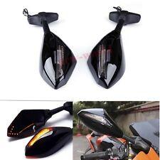 Motorcycle Indicator Turn Signal Mirrors For Suzuki Hayabusa GSXR 1300 1999-2013