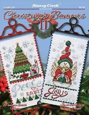 STONEY CREEK Cross Stitch Pattern Leaflet CHRISTMAS BANNERS II Book 291