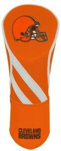 CLEVELAND BROWNS EMBROIDERED DRIVER HEADCOVER INDIVIDUAL NEW WINCRAFT 👀⛳