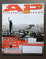 ALTERNATIVE PRESS Magazine State Of The Scene Cover October 2010 #267