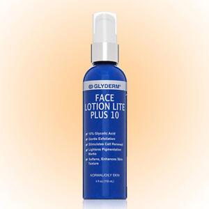 Glyderm Lotion Lite Plus 10 4 OZ. Pump Bottle-Fine lines & Hyperpigmentation NEW