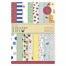A5 PAPER PACK - Country Life Collection - Docrafts