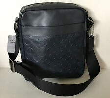 NEW! COACH CHARLES FLIGHT CROSSGRAIN LEATHER CROSSBODY SLING MESSENGER BAG $350