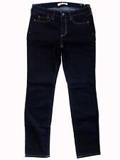 """ABERCROMBIE & FITCH """"Skinny"""" mid rise stretch indigo jeans US6S 28x31 10 NWT!"""