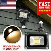 Motion Sensor Flood Light Waterproof Security Safety LED Lights Garden Outdoor