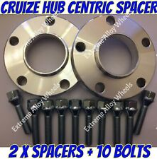 Alloy Wheel Spacers 15mm Bmw X3 X4 F25 F26 M14X1.25 Extended Bolts Sil Cruize
