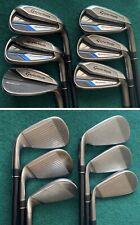 TaylorMade SpeedBlade Irons.. 5-9 + SW (Senior/M Flex graphite)... VGC