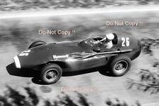 Stirling Moss Vanwall Winner Pescara Grand Prix 1957 Photograph 2