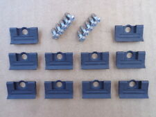 10 NOS WINDSHIELD MLDG CLIPS & SCREWS W/SEALER! FOR C3 CORVETTE 1968-1982 7937CX