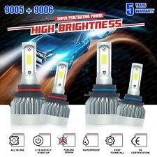 9005 9006 Combo LED Headlight Kit for Toyota Corolla 2001-2013 Hi/Lo 6000K 3400W