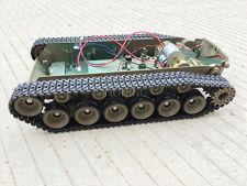 Supper big Robot Tank Chassis Crawler platform henglong 3838 large suspension