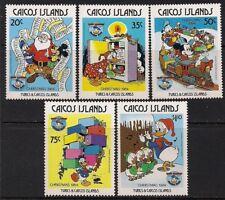 Turks & Caicos-Caicos Stamp - 84 Christmas Stamp - Nh