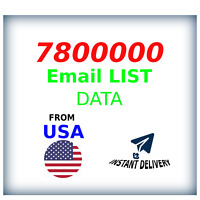 7,8 M USA Company Email Database Marketing List + Guide For Clickbank Marketing