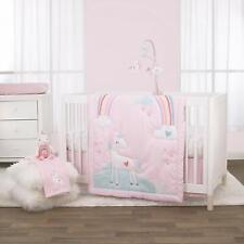 Pinwheel  Sweet Dreams 6pc Baby Crib Bedding W Bumper /& Xtras Hearts  Ice cream