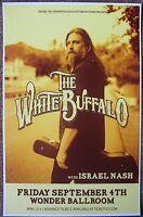 WHITE BUFFALO 2015 Gig POSTER Jake Smith Portland Oregon Concert